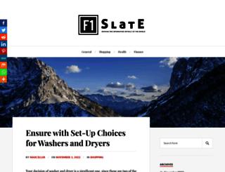 thef1slate.com screenshot