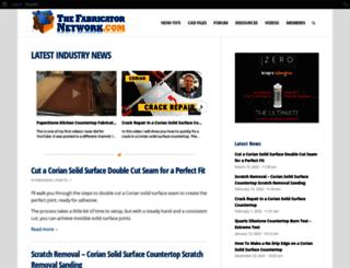 thefabricatornetwork.com screenshot