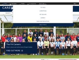 thefacareers.com screenshot