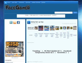 thefacegamer.com screenshot