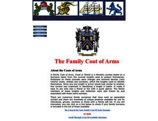 thefamilycoatofarms.com screenshot