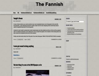 thefannish.org screenshot