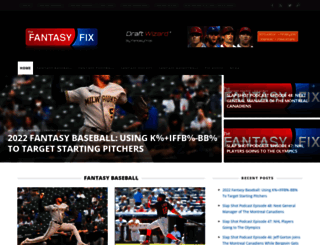thefantasyfix.com screenshot