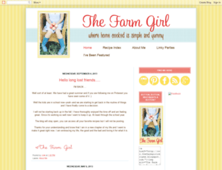 thefarmgirlrecipes.blogspot.com screenshot