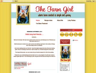 thefarmgirlrecipes.blogspot.com screenshot