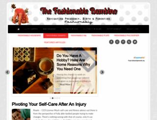 thefashionablebambino.com screenshot