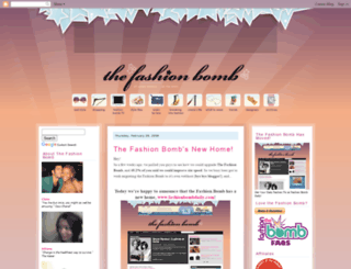 thefashionbomb.blogspot.com screenshot