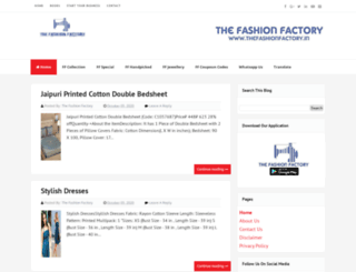 thefashionfactory.in screenshot