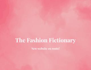 thefashionfictionary.com screenshot