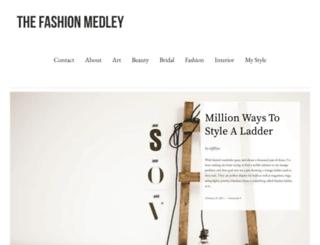 thefashionmedley.wordpress.com screenshot