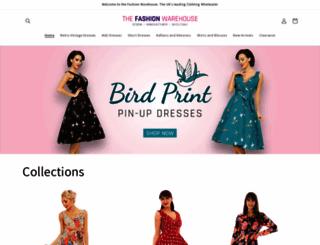 thefashionwarehouse.co.uk screenshot