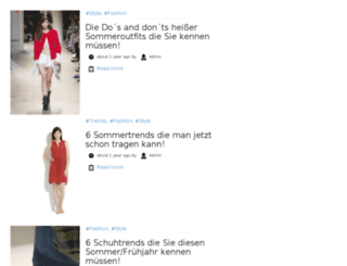 thefashionzoom.de screenshot