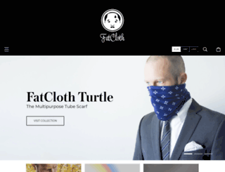 thefatcloth.com screenshot