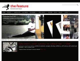 thefeature.org.uk screenshot