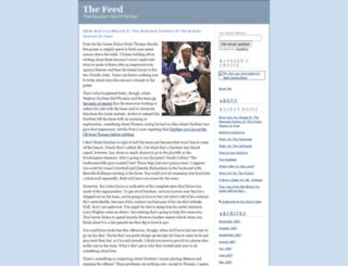 thefeed.blogs.com screenshot