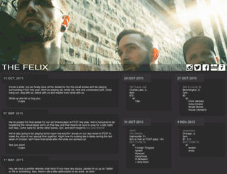 thefelixculpa.com screenshot