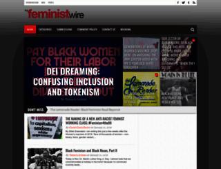 thefeministwire.com screenshot