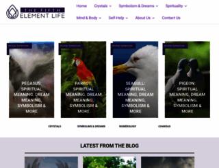thefifthelementlife.com screenshot