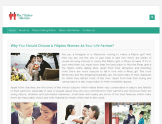 thefilipinolifestyle.com screenshot