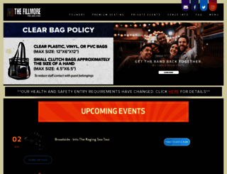 thefillmorephilly.com screenshot
