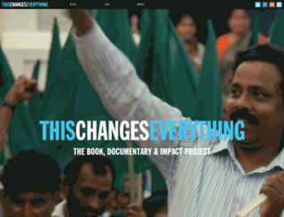thefilm.thischangeseverything.org screenshot
