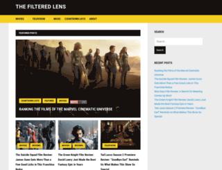 thefilteredlens.com screenshot