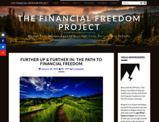 thefinancialfreedomproject.com screenshot
