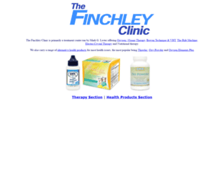 thefinchleyclinic.co.uk screenshot