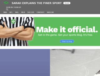 thefinersports.sportsblog.com screenshot