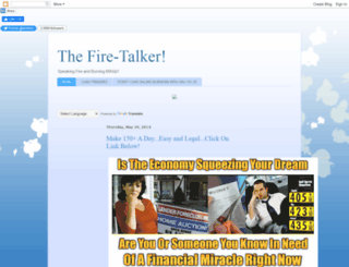 thefiretalker.blogspot.com screenshot