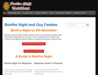 thefireworkshoplist.co.uk screenshot