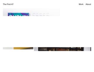 thefirst47.com screenshot