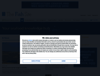 thefishsite.com screenshot