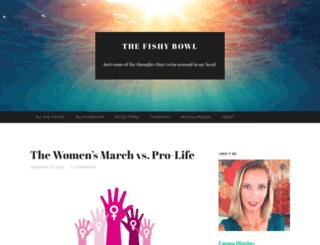thefishybowl.wordpress.com screenshot