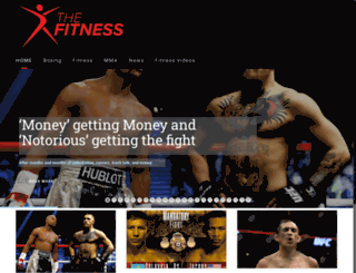 thefitness.co.uk screenshot