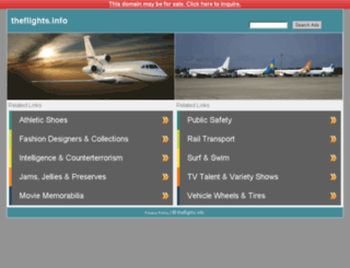 theflights.info screenshot