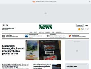 theflindersnews.com.au screenshot