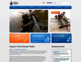 thefloodfund.org screenshot