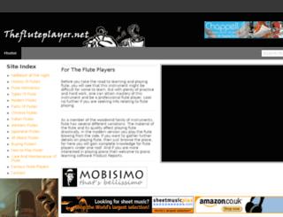 thefluteplayer.net screenshot