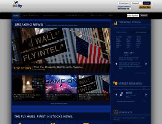 thefly.com screenshot