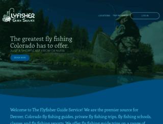 theflyfisher.com screenshot