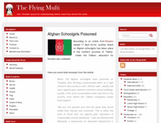 theflyingmufti.org screenshot