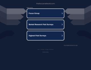 thefocusnetwork.com screenshot