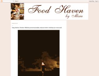 thefoodhaven.blogspot.com screenshot