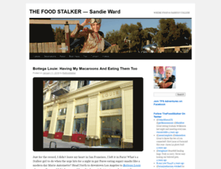 thefoodstalker.wordpress.com screenshot