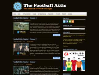 thefootballattic.blogspot.co.uk screenshot