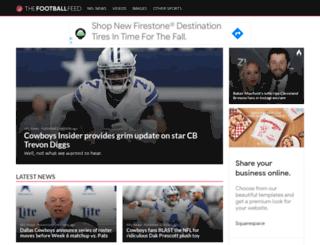 thefootballfeed.com screenshot