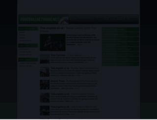 thefootballnetwork.net screenshot