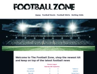 thefootballzone.co.uk screenshot