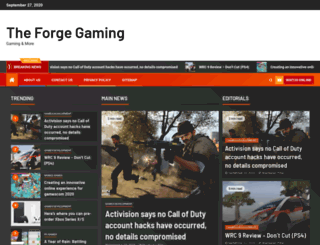 theforgegaming.com screenshot